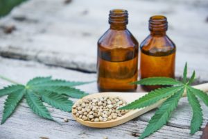 CBD oil in patients